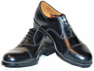British Army Parade Shoes Black Leather RAF Air Cadet Uniform Military Surplus • 17.99£