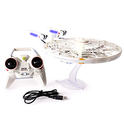 AU164.84 • Buy Star Trek U.S.S Enterprise NCC-1701-A, Remote Control Drone With Lights & Sound
