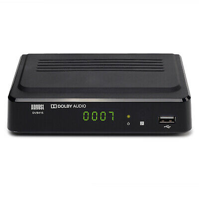 Freeview HD Recorder Box Watch Pause Rewind TV Record 1080p August DVB415 • 31.95£
