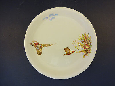 £4.49 • Buy C1930s Barratts China: Delphatic White Side Plate: 17.0cm Dia: Flying Pheasants