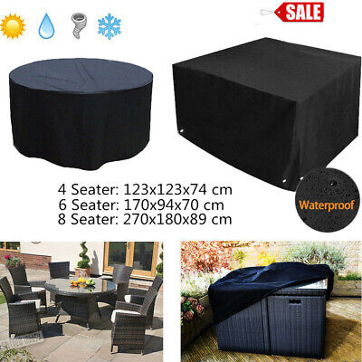 AU20.49 • Buy Outdoor Patio Furniture Cover  4/6/8 Seater Garden Table Chair Shelter Protector
