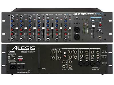 £211.69 • Buy Alesis - Multimix-10 - 10-Channel Rackmount Mixer With Bluetooth Wireless