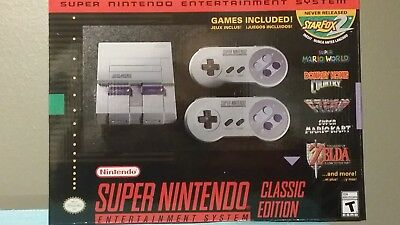 $ CDN253.77 • Buy 280 GAMES Super NES Classic FREE PRIORITY SHIPPING NEW SNES Classic Mini Edition