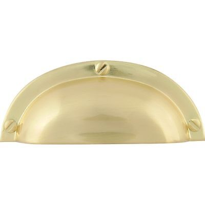 "$150 • Buy Baldwin 4462-050 Satin Brass 3"" CTC PLAIN Cup Pull, QTY 20"