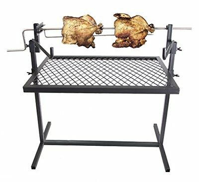 £72.17 • Buy Heavy Duty Cooking Grill Rotisserie Camping Equipment Kitchen Outdoor Campfire