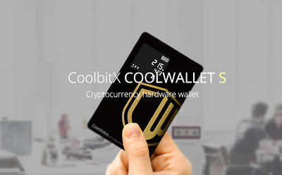AU179 • Buy COOLWALLET S Wireless Bitcoin Wallet - FREE AU EXPRESS POST + Track + SOD