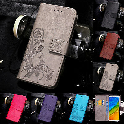 $4.20 • Buy For Xiaomi Redmi 8A Note 8 7 Pro Magnetic Pattern Leather Flip Wallet Case Cover