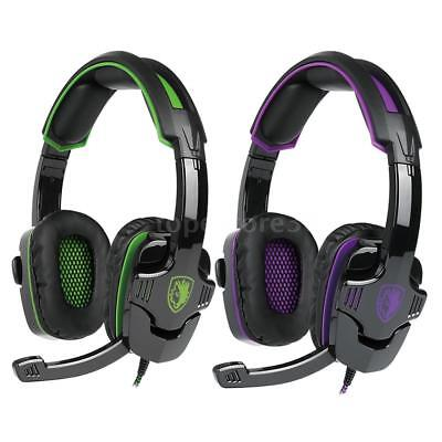 AU28.19 • Buy SADES SA-930 Gaming Headset Noise Cancel Stereo Music Headphone For XBOX PC PS4
