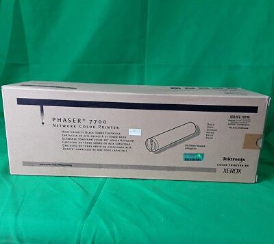 $79.95 • Buy Xerox Phaser 7700 High Capacity Black Toner Cartridge 016194700 New Genuine