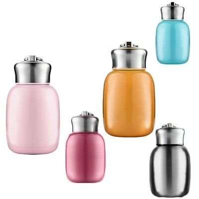 AU23.20 • Buy Cute Mini Stainless Steel Thermos Vacuum Thermal Milk Tea Water Insulated Bottle