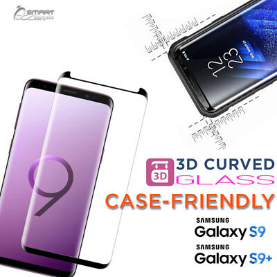 $ CDN5.75 • Buy 3D Case Friendly Tempered Glass Screen Protector For Samsung Galaxy S8 S9 Plus