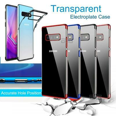 AU6.99 • Buy For Samsung Galaxy S10E S10 S9 S8 Plus Clear Case Soft Gel Protective Slim Cover