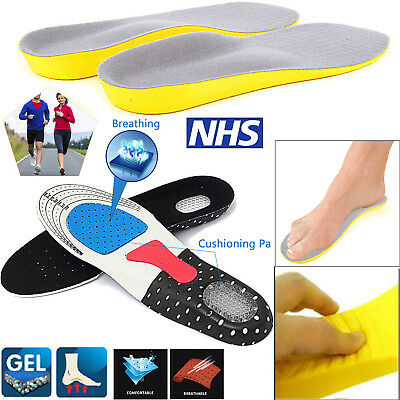 Memory Foam Orthopaedic Orthotic Shoe Insoles Pad Trainer Foot Feet Comfort Heel • 3.14£