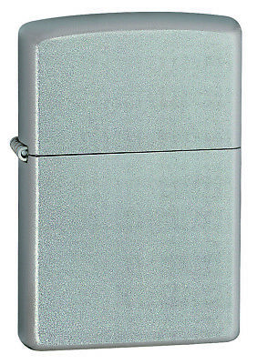 AU31.89 • Buy New ZIPPO Lighter 205 Satin Chrome Silver Free Shipping In Australia Genuine