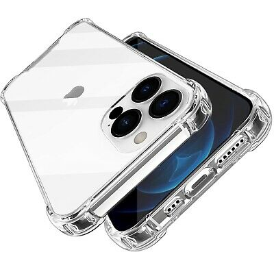 AU4.99 • Buy Shockproof For IPhone 5 6 6S 8 7 Plus XS 13 12 11 Pro MAX Heavy Clear Case Cover