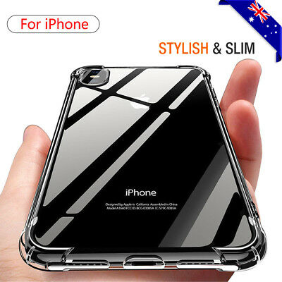 AU4.99 • Buy Shockproof  IPhone 8 7 Plus XS 12 11 Pro MAX XR Heavy Clear Case Cover For Apple