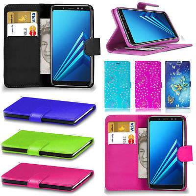 AU6.99 • Buy For OnePlus 6 5T Wallet Leather Flip PU Card Pocket Case Cover For One Plus 5T