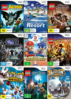 AU19.95 • Buy Nintendo Wii Games - Choose Your Own Title *Free Next Day From Sydney*