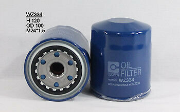 AU20.94 • Buy Wesfil  Oil Filter   WZ334 Z334 Suits FORD/MAZDA/