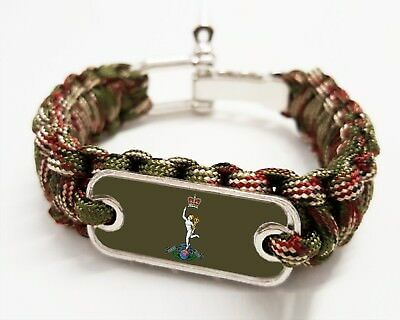 £8.99 • Buy Royal Corps Of Signals  Paracord Rope Bracelet