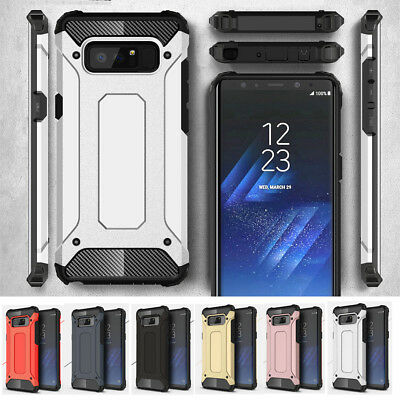 $ CDN4.84 • Buy Armor Rugged Hybrid Shockproof Phone Case Cover For Samsung Galaxy Note 8 S8+ S7