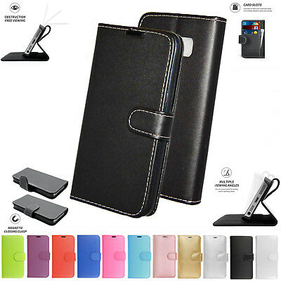 AU7.21 • Buy Sony Xperia XA1 Ultra Book Pouch Cover Case Wallet Leather Phone Black Pink