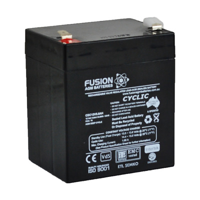 AU28.99 • Buy 12V 5.6AH SLA AGM Battery Replacement 4 Razor PowerRider 360 Electric Tricycle