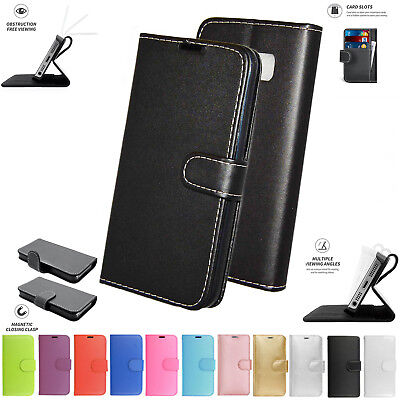 $ CDN5.27 • Buy Samsung Galaxy S6 Edge Plus G928F Book Pouch Cover Case Wallet Leather Phone