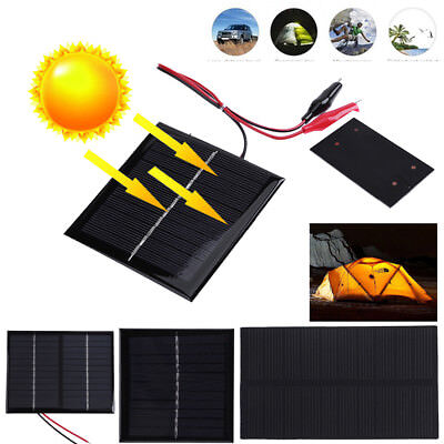 $3.91 • Buy Universal Mini Solar Panel Power Module For Light Battery Cell Phone Charger