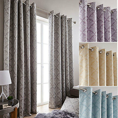 Cornella Ring Top Blackout Curtains (Pair Of) - Choice Of Colours & Sizes • 30.19£