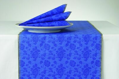 £6.99 • Buy BLOOM French Blue Floral Paper Table Runner - 20 Ft By 13 Inches 1 Ply