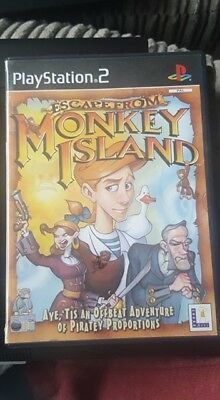 Escape From Monkey Island - Sony PS2 - Complete With Manual • 5.99£