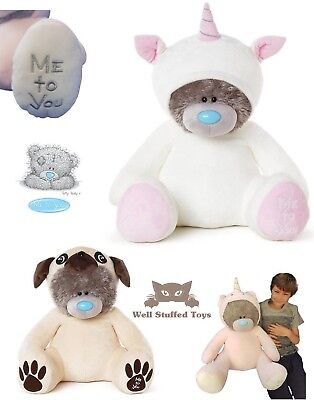 £38.99 • Buy Me To You Extra Large Special Gift Valentines Plush Unicorn Pug Tatty Teddy 24