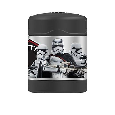 AU27.99 • Buy THERMOS Funtainer S/Steel Vacuum Insulated Food Jar 290ml Star Wars Stormtrooper