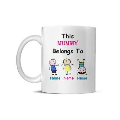 Mummy/Mum/Grandma/Nanny/Nan/Auntie,Godmother Personalised Mothers Day Mug • 7.59£