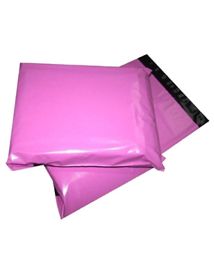 50 X Strong PINK Postal Mailing Bags Sacks 10 X 14   *OFFER PRICE* • 4.99£