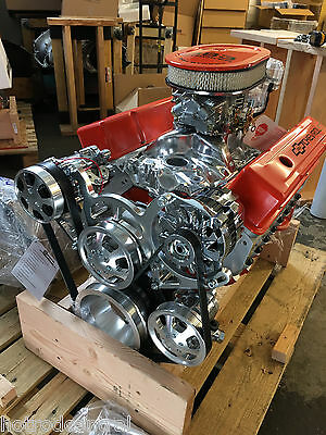 Chevy 383 crate engine compare prices on dealsan 383 stroker motor 525hp roller turn key ac pro street chevy crate engine sbc malvernweather Image collections