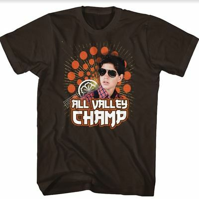 $20.70 • Buy Karate Kid All Valley Champ Adult T Shirt Great Classic Movie