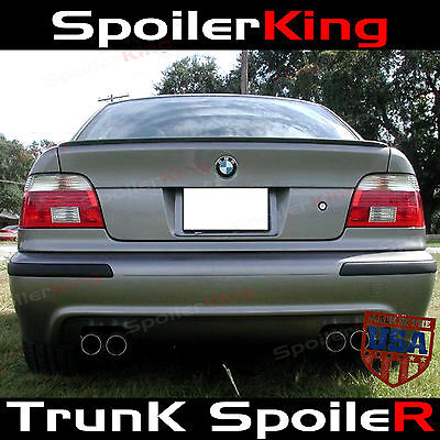 $65.55 • Buy (244L) M Style Trunk Spoiler Fits: E39 1997-2003 5 Series BMW Rear Trunk M5 Wing