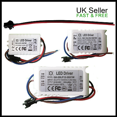 LED Constant Current Driver Mains Power Supply For Up To 20 1W LED Chips  • 4.99£