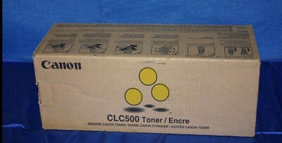 £27 • Buy Canon Clc500 Toner Yellow  - Free Next Day Delivery!