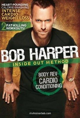 Bob Harper Inside Out Method Body Rev Cardio Cond. Dvd Conditioning Workout New • 6.38£