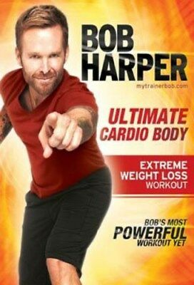 Bob Harper Ultimate Cardio Body Extreme Weight Loss Dvd New Sealed Workout • 6.43£