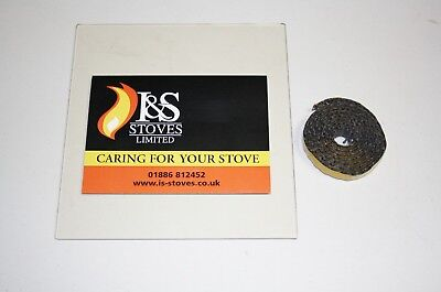 £19 • Buy Morso Stove Replacement Glass With Seal/Gasket - All Models