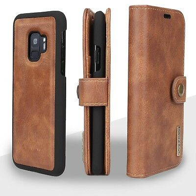 $ CDN24.99 • Buy Genuine Wallet Leather Case Cover -Samsung Galaxy S7 Edge S8& S9 Plus / IPhone X