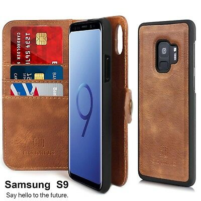 $ CDN24.99 • Buy Samsung Galaxy S9 S8 Plus S7 Shockproof Flip Card Slot Wallet Leather Case Cover