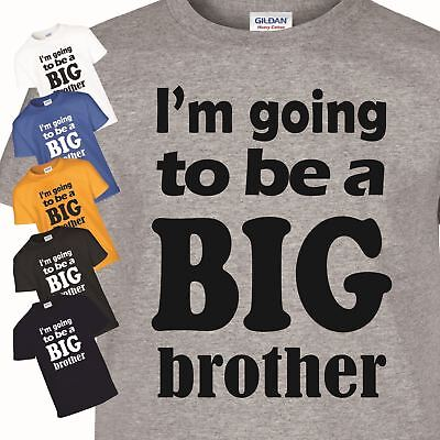 I Am Going To Be A Big Brother Kids T-Shirt Lovely Funny Child Top Gift Shirt • 5.99£