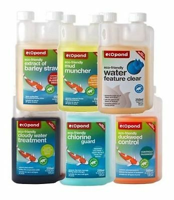 Ecopond Treatments - Eco Friendly Natural Treatments For A Clean Pond • 9.99£