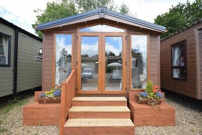 2020 Sunrise Lodge | 2 Bed WINTERISED | Mobile Log Cabin | Ideal Granny Annexe • 29,995£