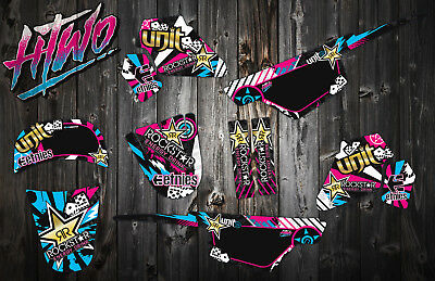 $ CDN93.70 • Buy Pw50 Graphics Motocross Mx Decal Kit Peewee 50 Pw 50 Sticker Graphic Kit